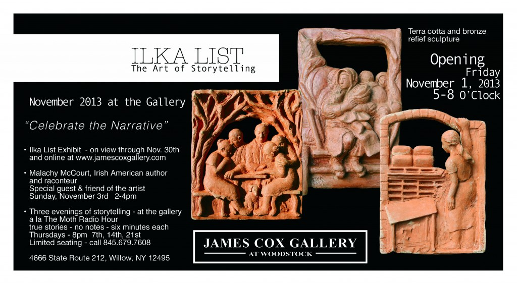Ilka List and the Art of Storytelling Nov. 1 - Nov. 30, 2013